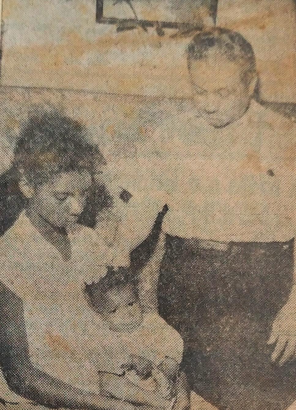 Curandeiro questionado - 1962