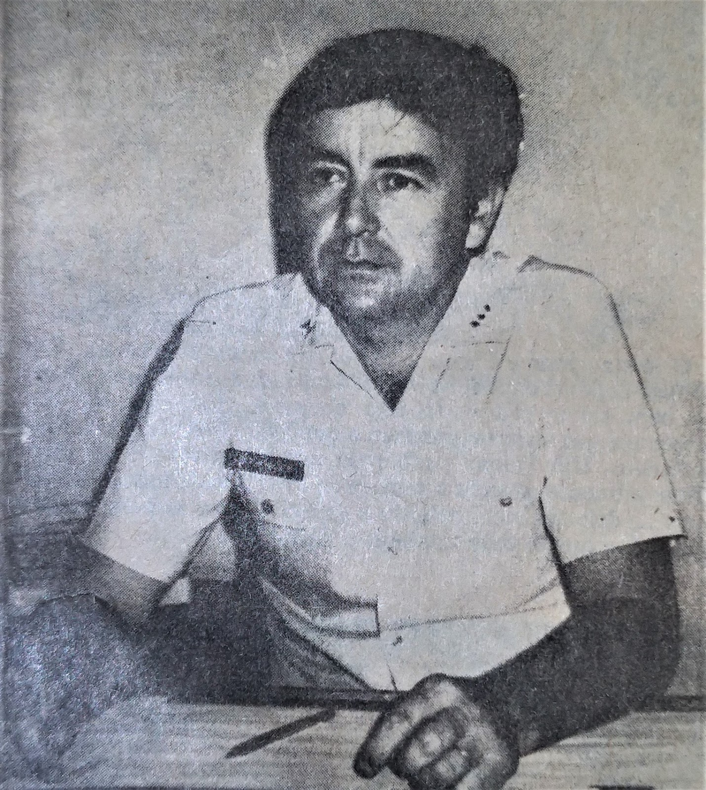 Antonio Tadeu Rodrigues promovido a Major - 1985