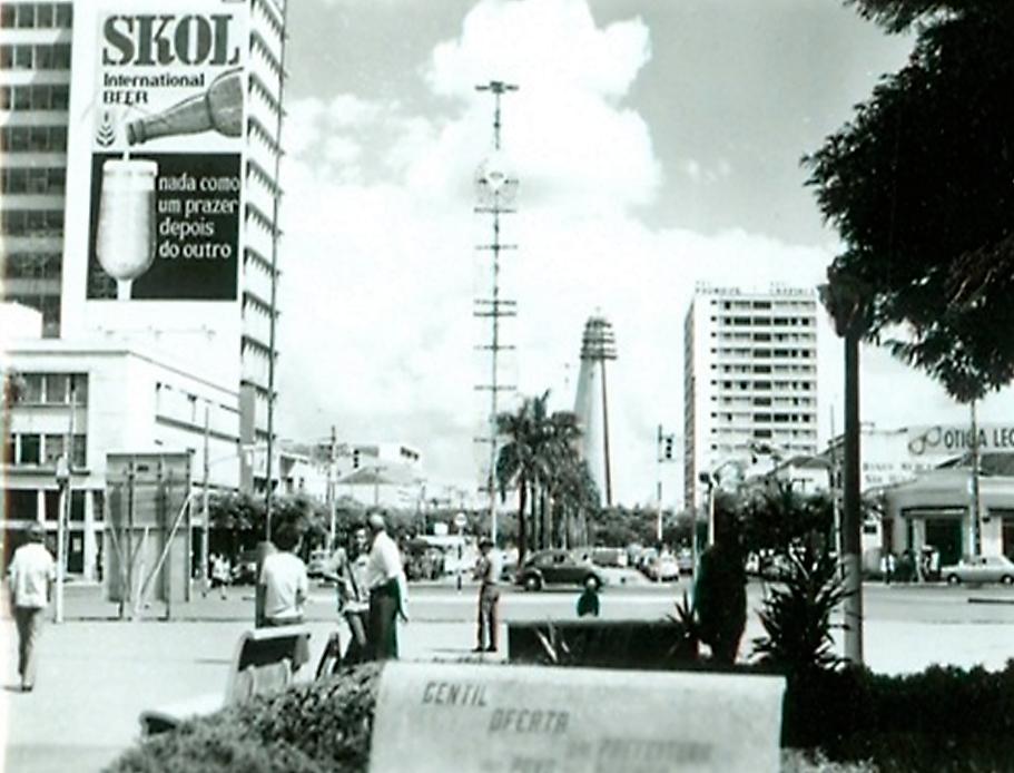 Praça Raposo Tavares - Década de 1970
