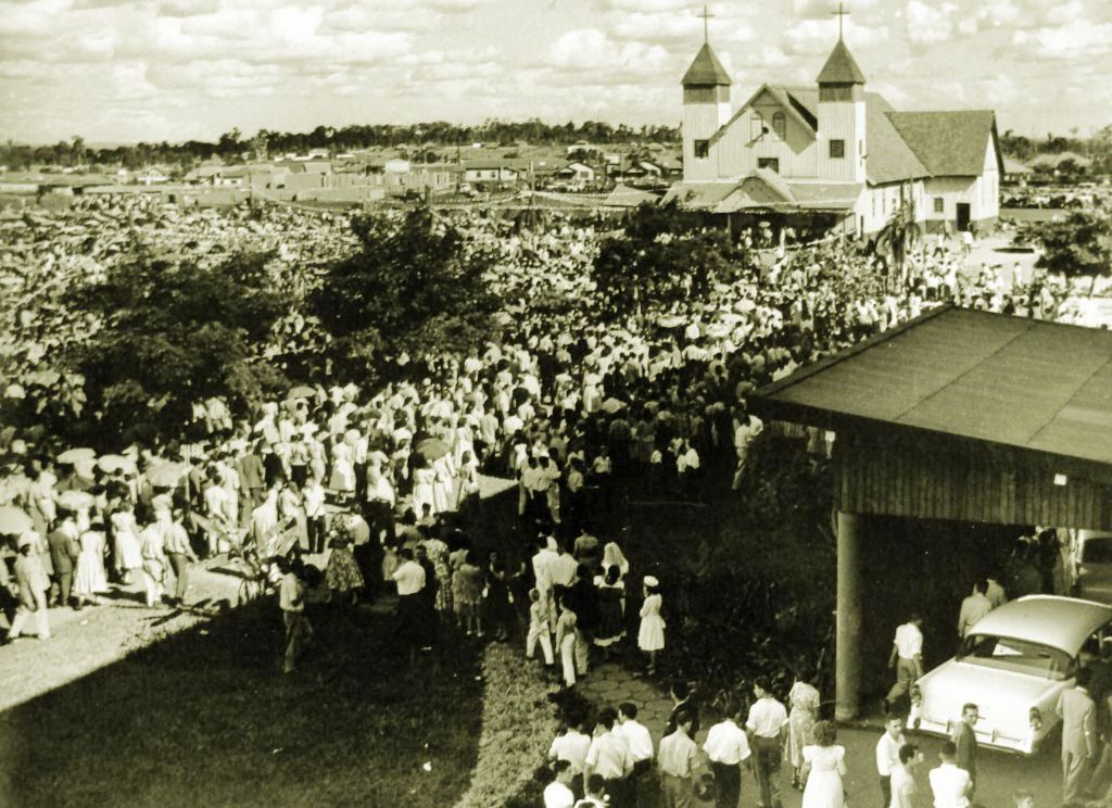 Catedral Nossa Senhora da Glória - 1957