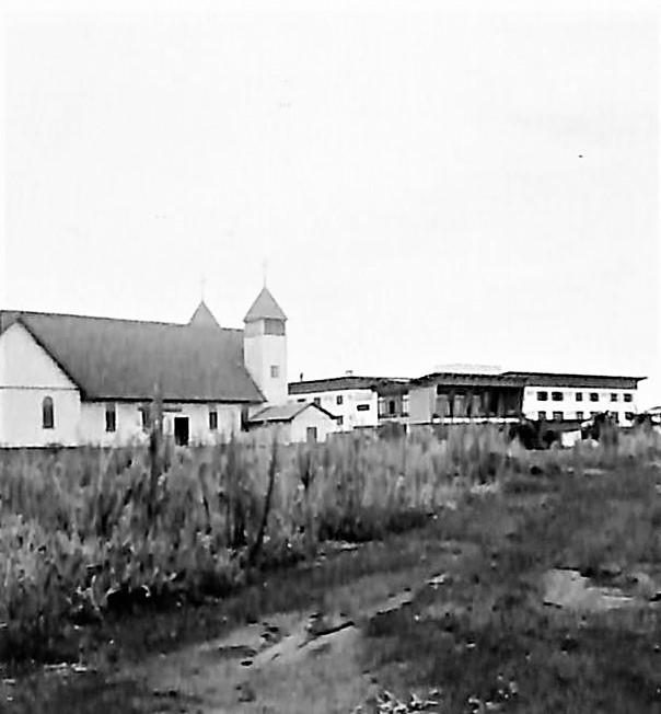 Catedral e Grande Hotel - Anos 1950