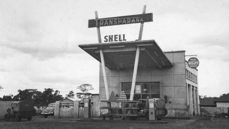 Posto Transparaná - Década de 1950