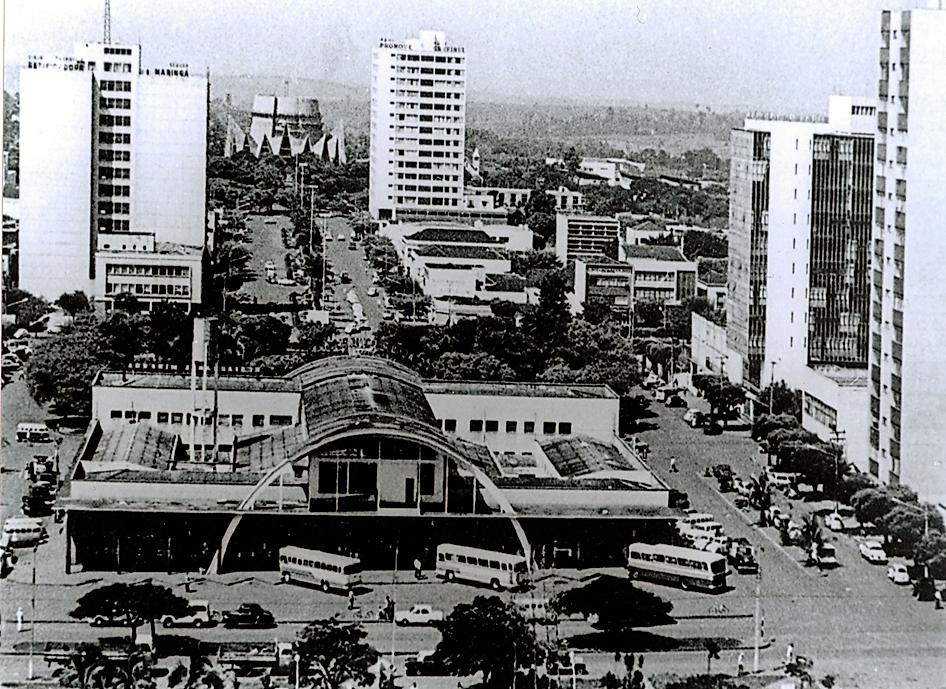Eixo Monumental - Final dos anos 1960