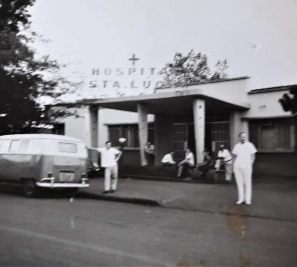 Hospital Santa Lúcia - Década de 1960