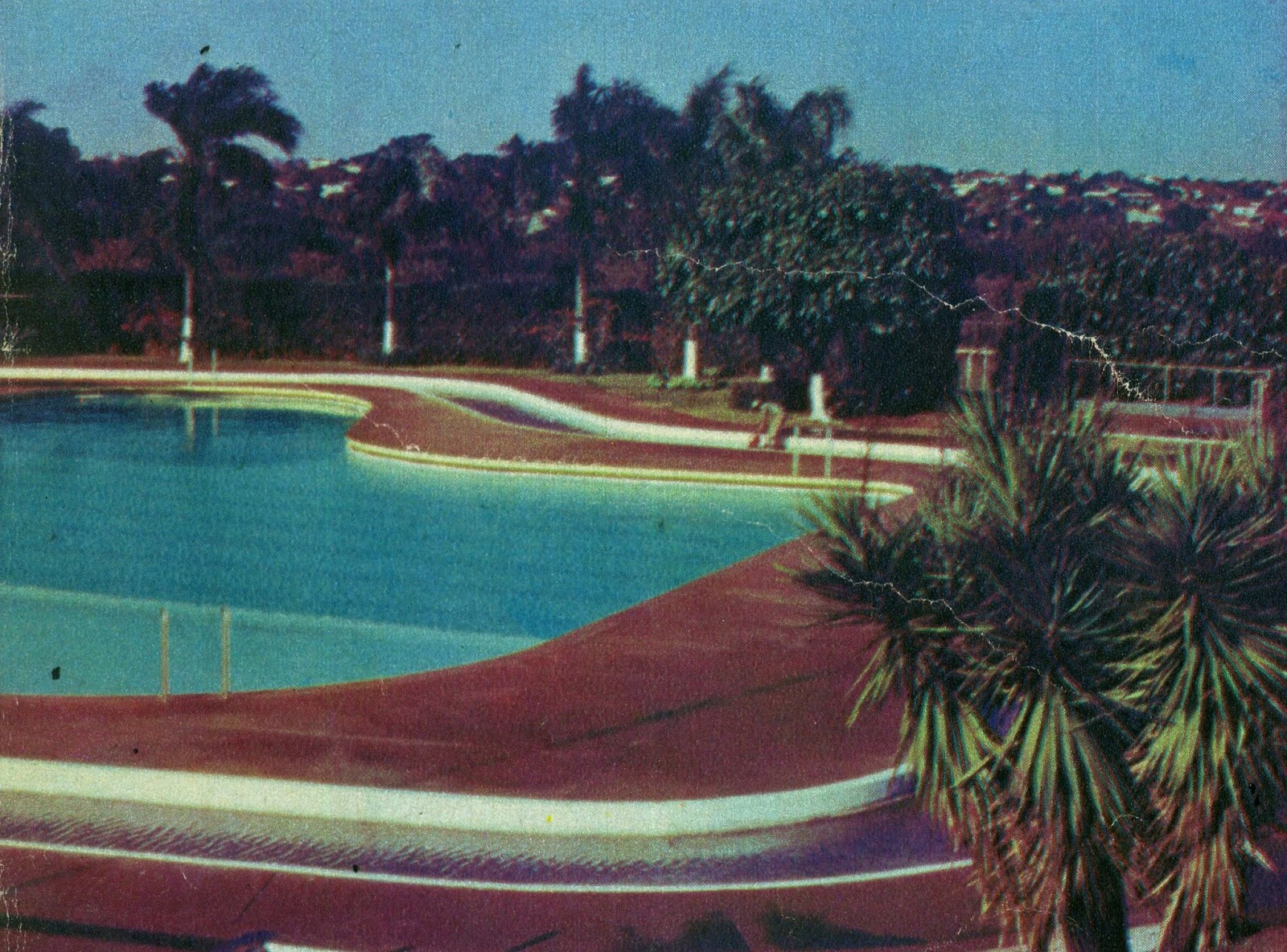 Piscina do Country Club de Maringá - 1972