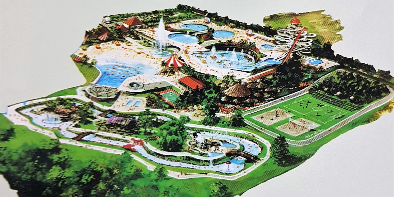 Tropical Waterpark Internacional - 1996