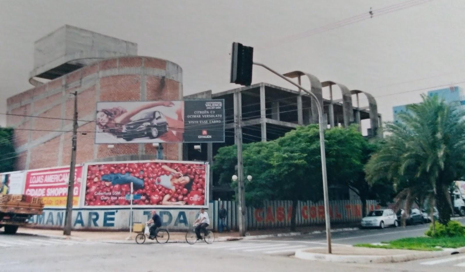 Projeto do Shopping Maringá 24h - Anos 1990