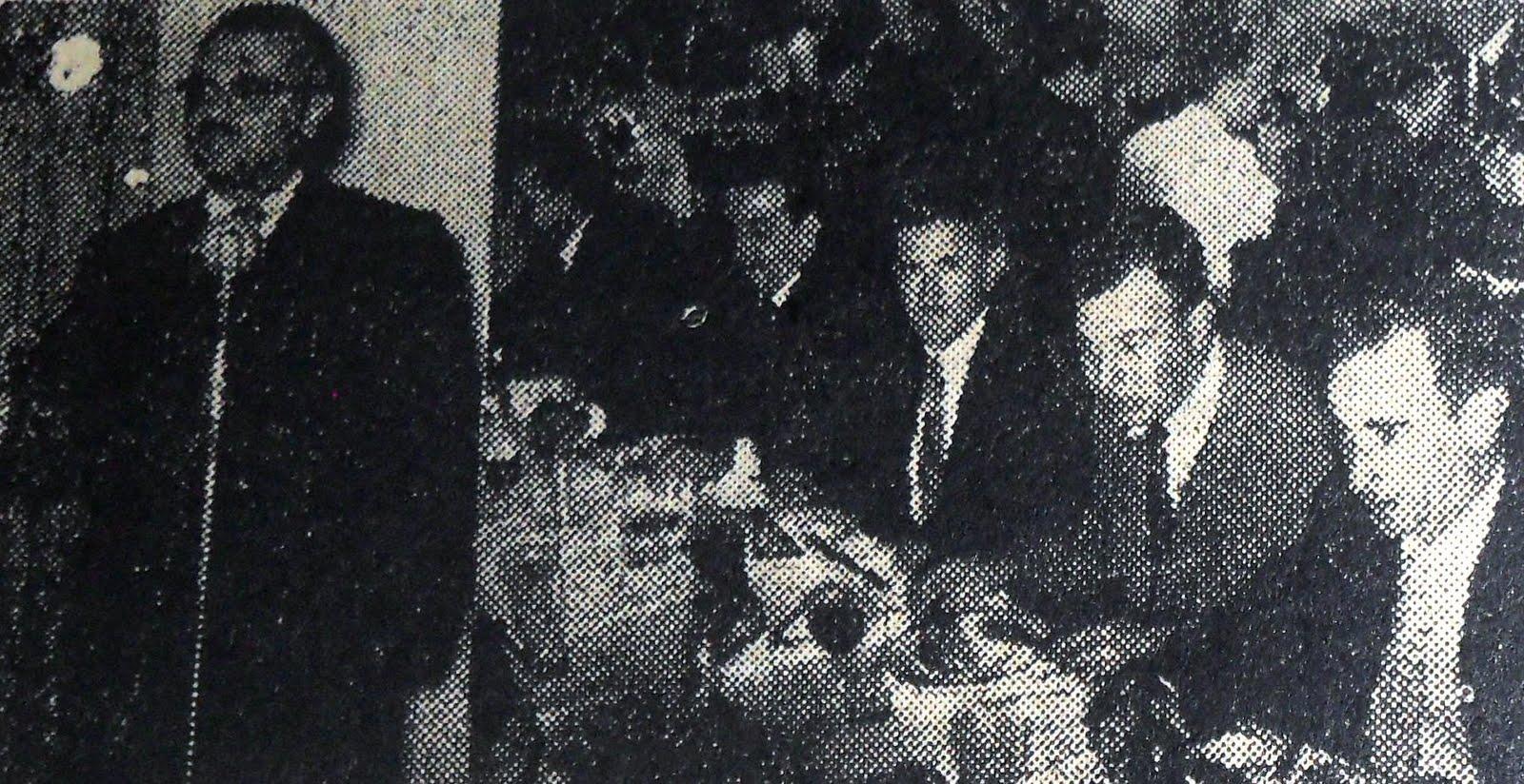 Almoço para os candidatos a prefeito - 1956