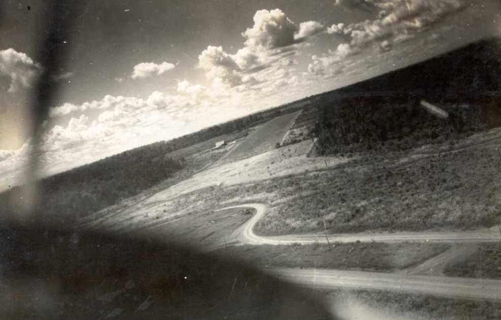 Preparando o pouso - 1949
