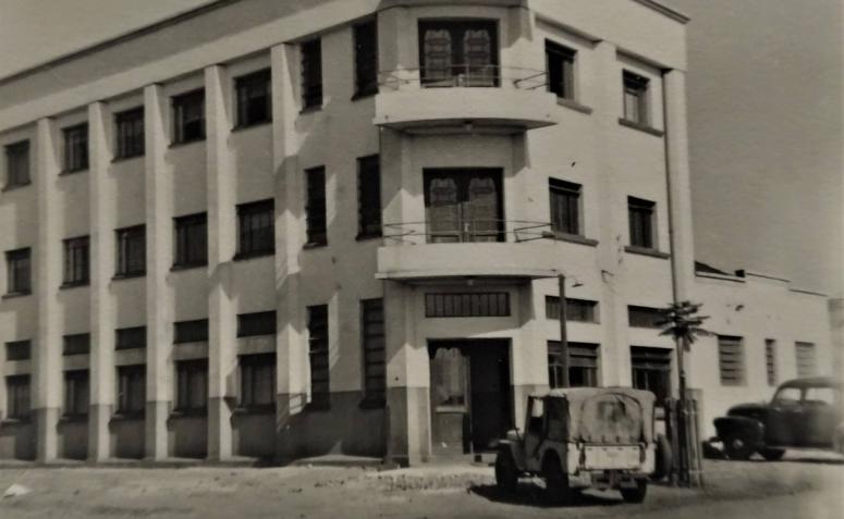 Hotel Esplanada - Início dos anos 1950