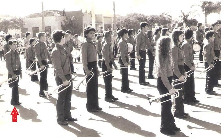 Fanfarra do Colégio João XXIII - 1972