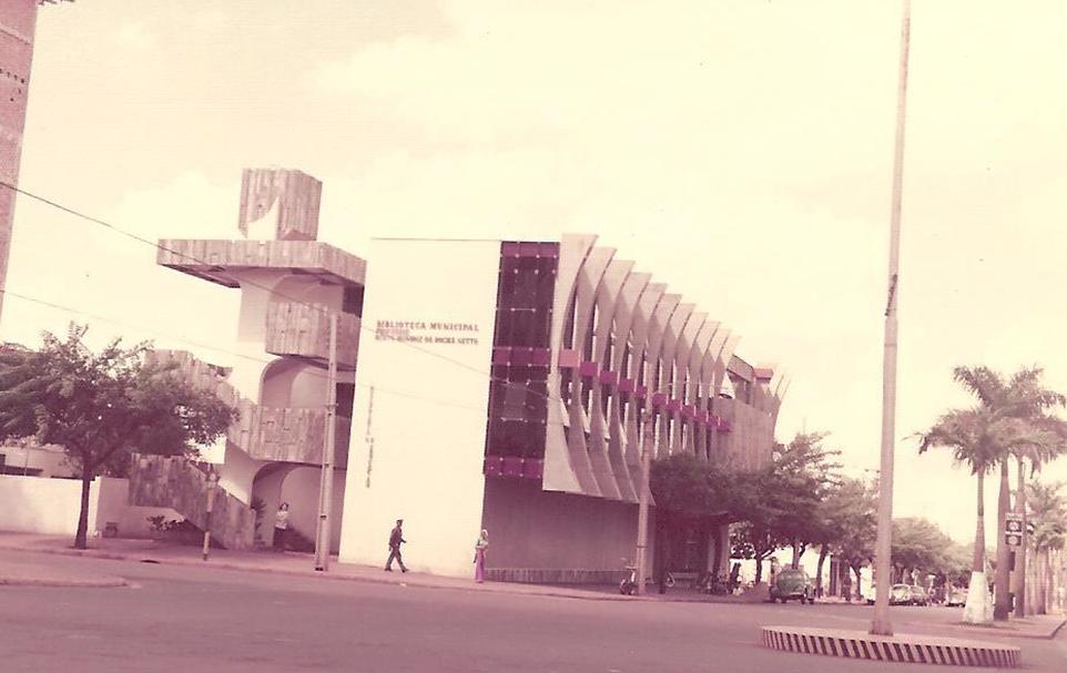 Biblioteca Bento Munhoz da Rocha Neto - Década de 1980