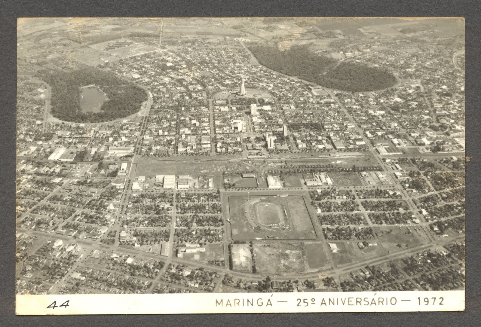 Os pulmões de Maringá - 1972