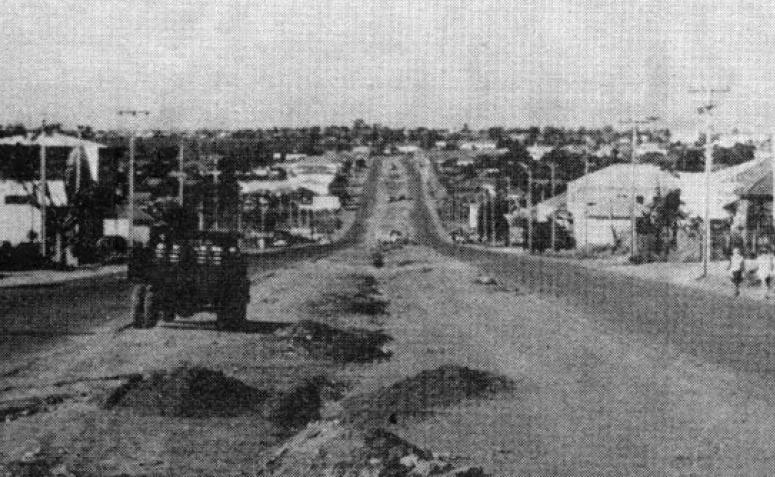 Duplicação da Avenida Colombo - Década de 1960