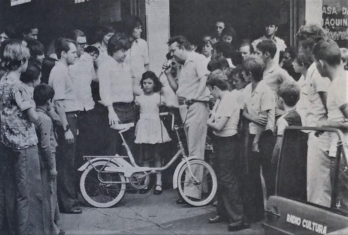 Programa Super Show ABG da Rádio Cultura - 1975
