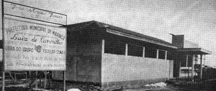 Grupo Escolar José Moreno Júnior - Década de 1960