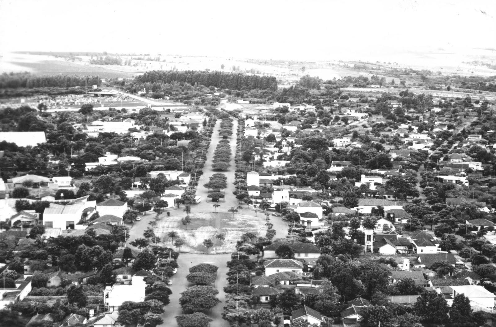 Avenida Cerro Azul - Década de 1970
