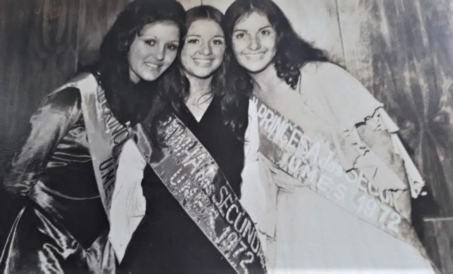 Rainha dos Secundários da UMES de 1972