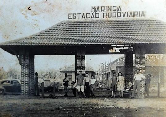 Estação Rodoviária de Maringá - 1949