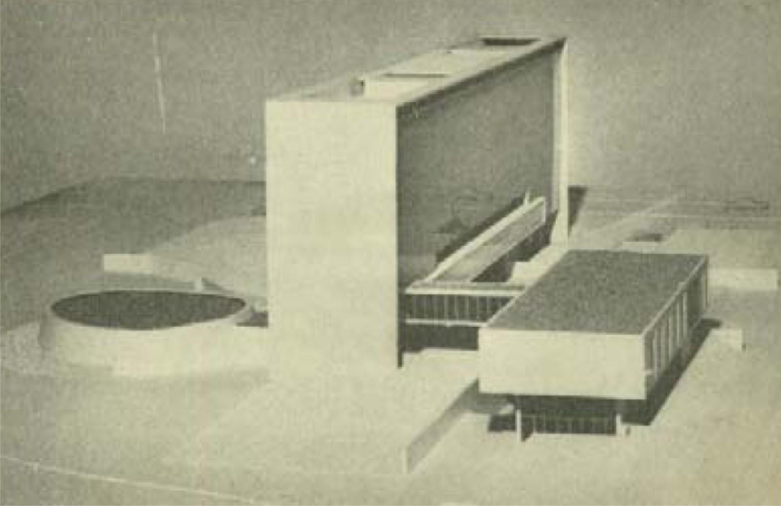 Paço Municipal - Projeto de Bellucci