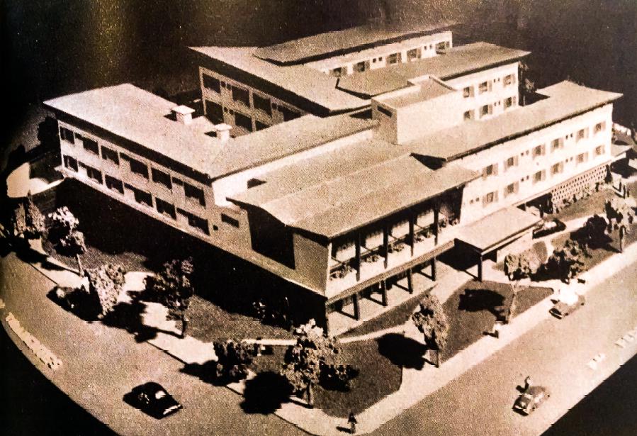 Maquete do Grande Hotel Maringá