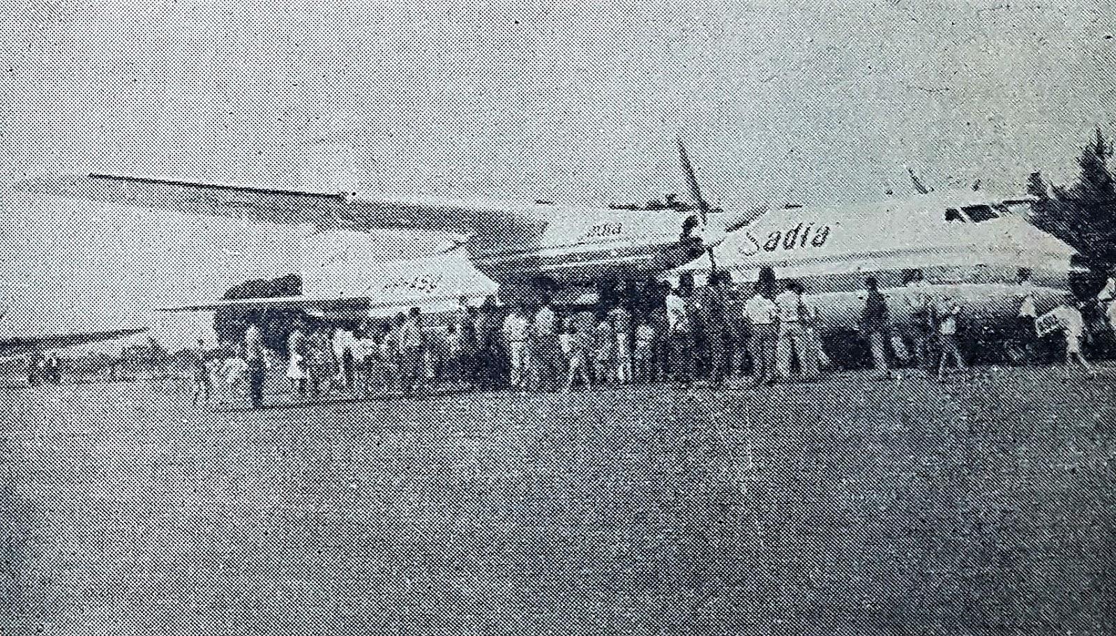 Movimento de passageiros no Aeroporto Dr. Gastão Vidigal - 1964