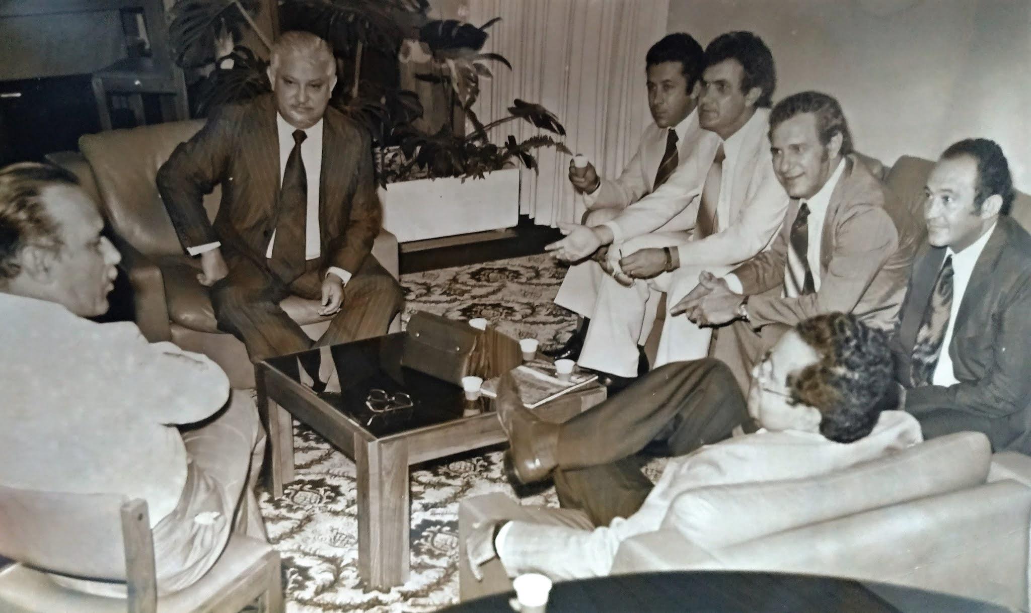 Hermann Moraes Barros, imprensa e vereadores - Década de 1980