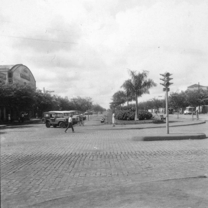 Rua Santos Dumont x Avenida Getúlio Vargas - 1960