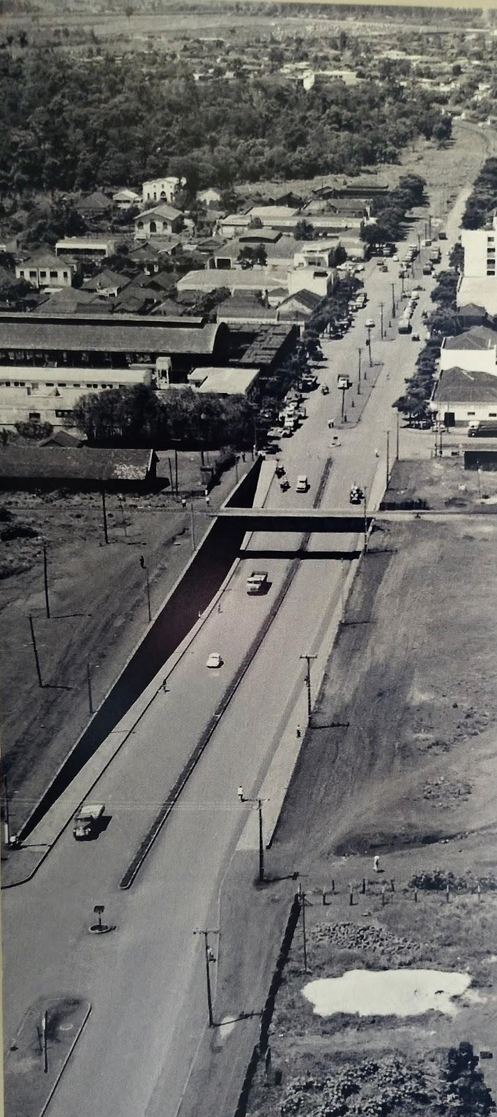 Viaduto do Café - Década de 1970