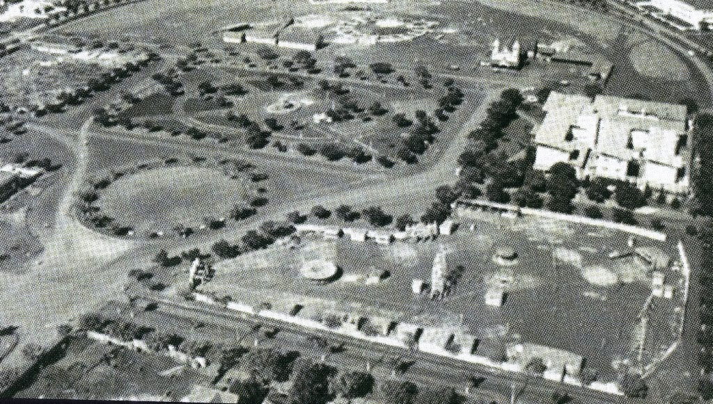 Praça Dom Pedro II - Final da década de 1950