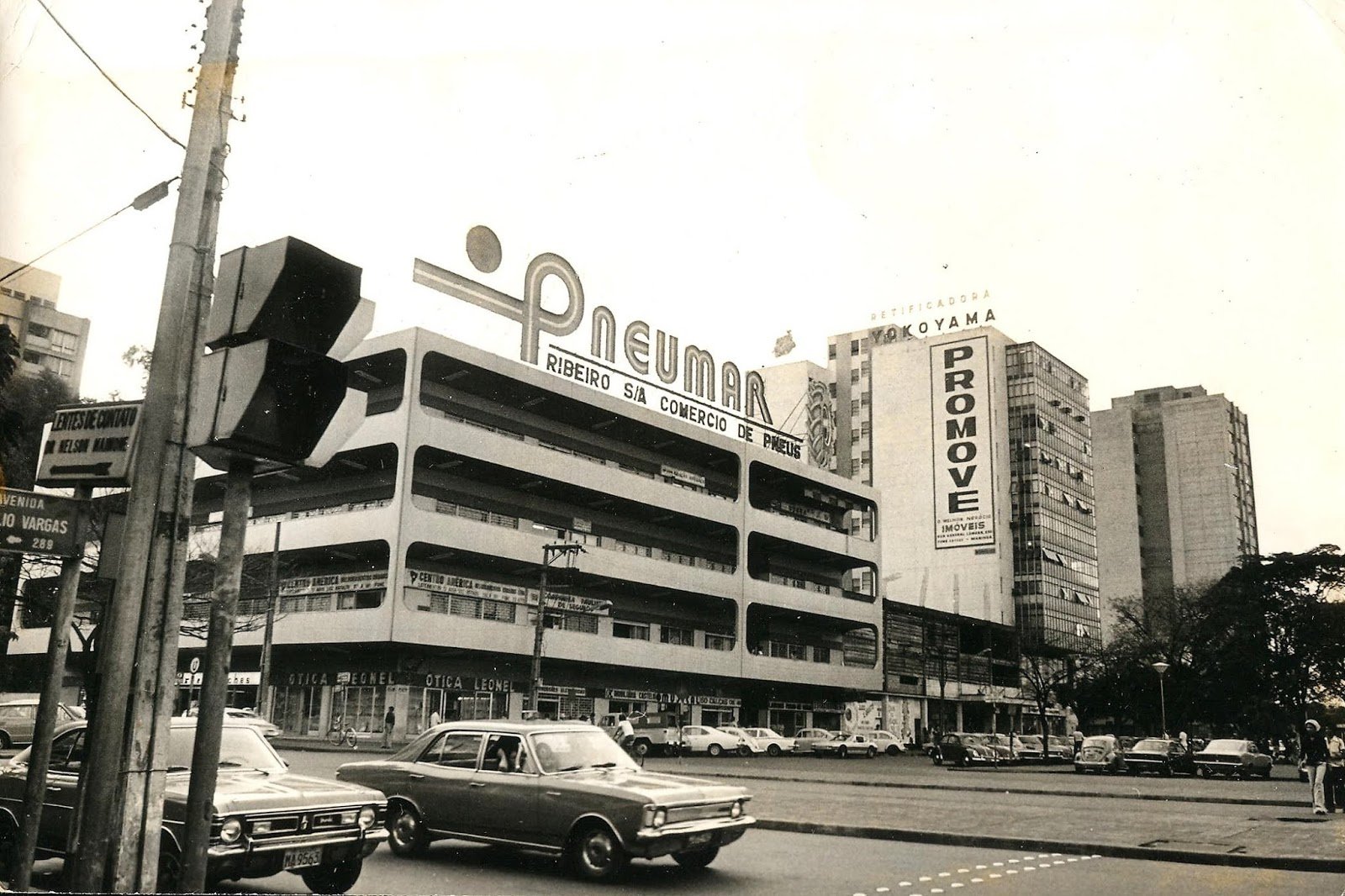 Avenida Brasil x Avenida Getúlio Vargas - Década de 1980