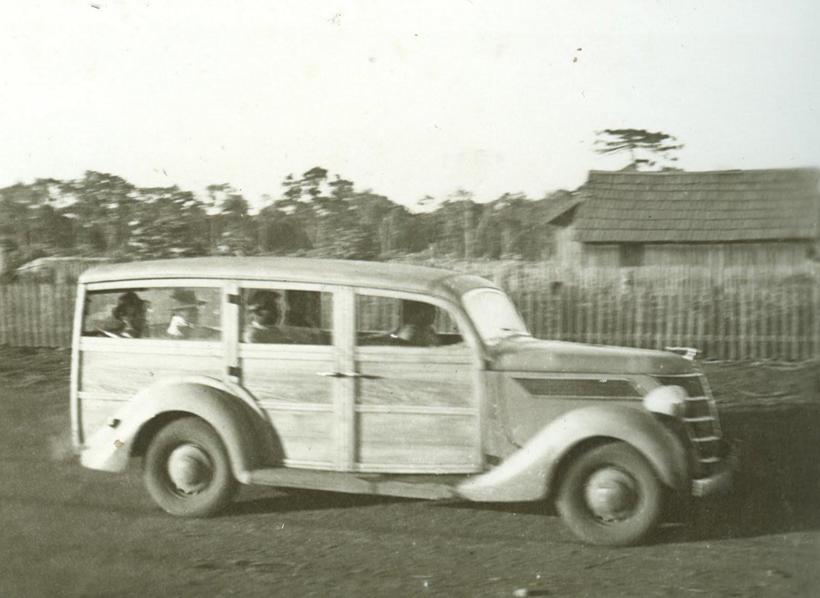Veículo de Transporte Coletivo - Década de 1940/1950