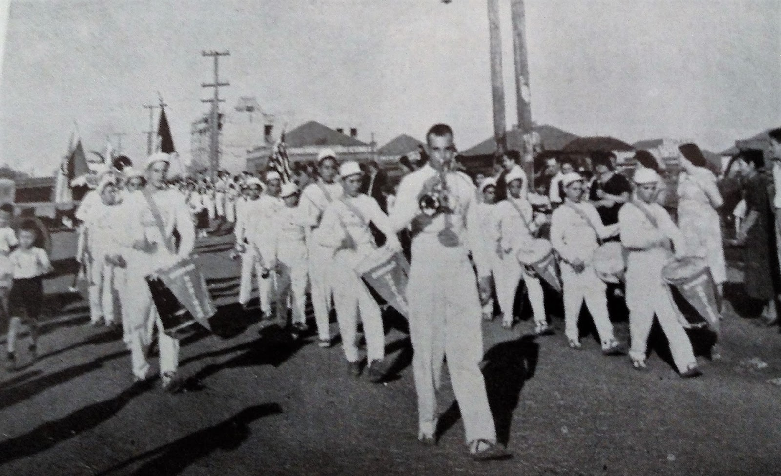 Fanfarra do Ginásio Maringá - 1952