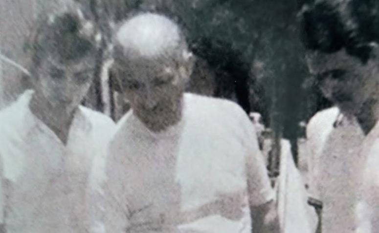 Adriano Valente em Feira de Ciências - Década de 1970