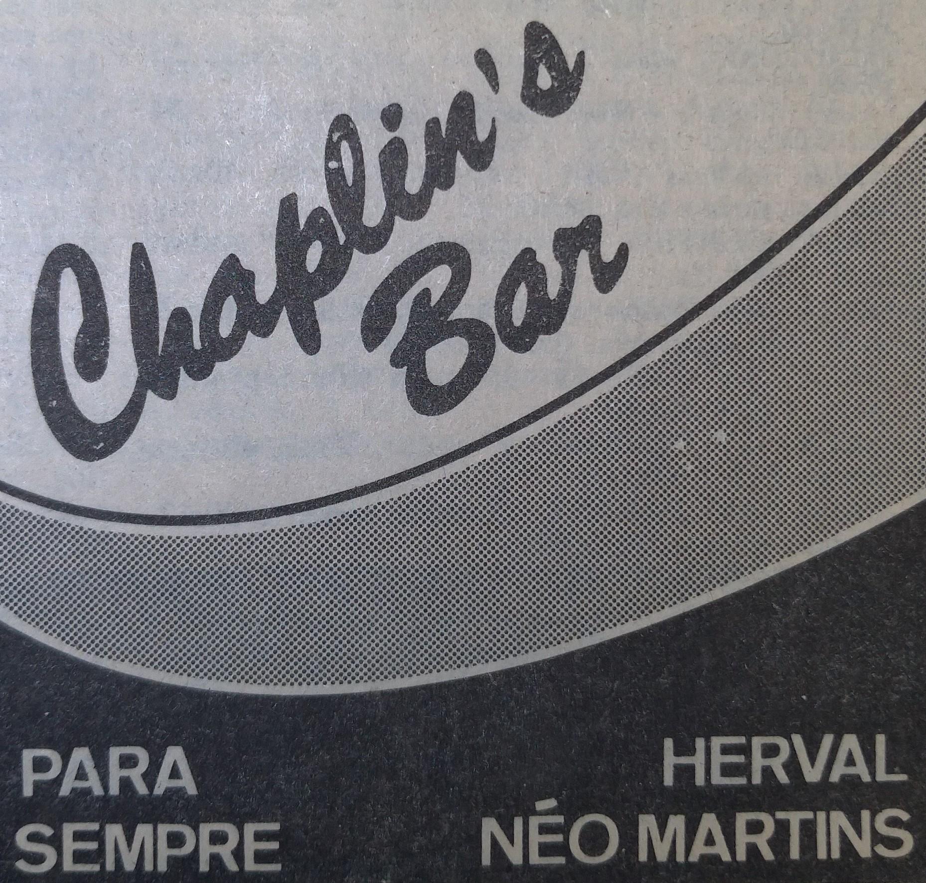 Chaplin's Bar - Anos 1980