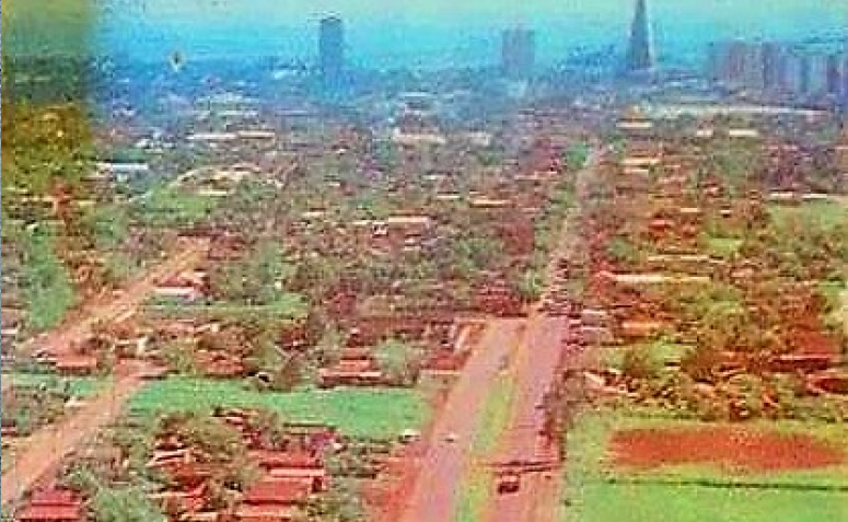 Avenida Morangueira - Anos 1980