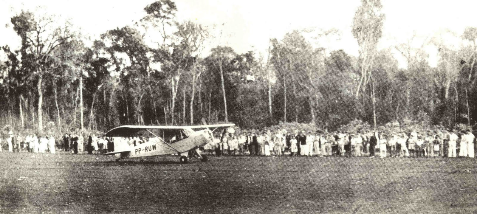 Aeroporto de Maringá - 1947 / 1949