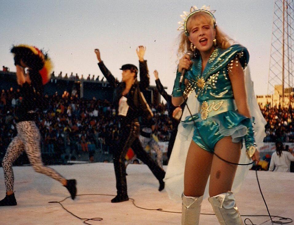 Show da Angélica em 1989