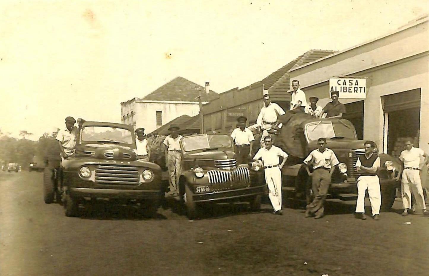 Casa Aliberti - 1947 e 1950