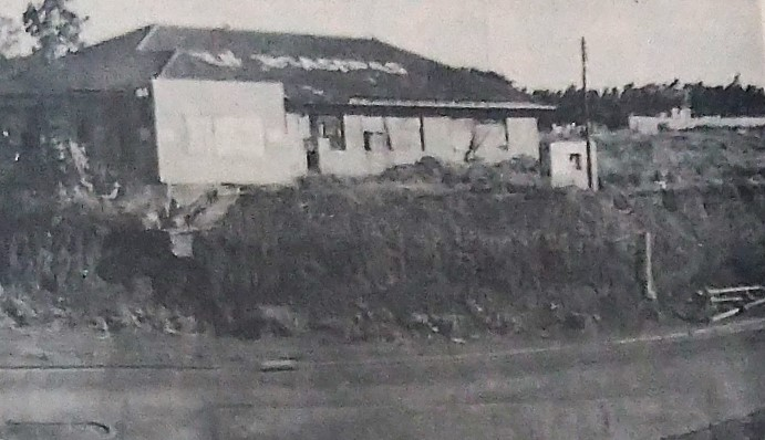 Ocupações irregulares próximo ao viaduto - 1978