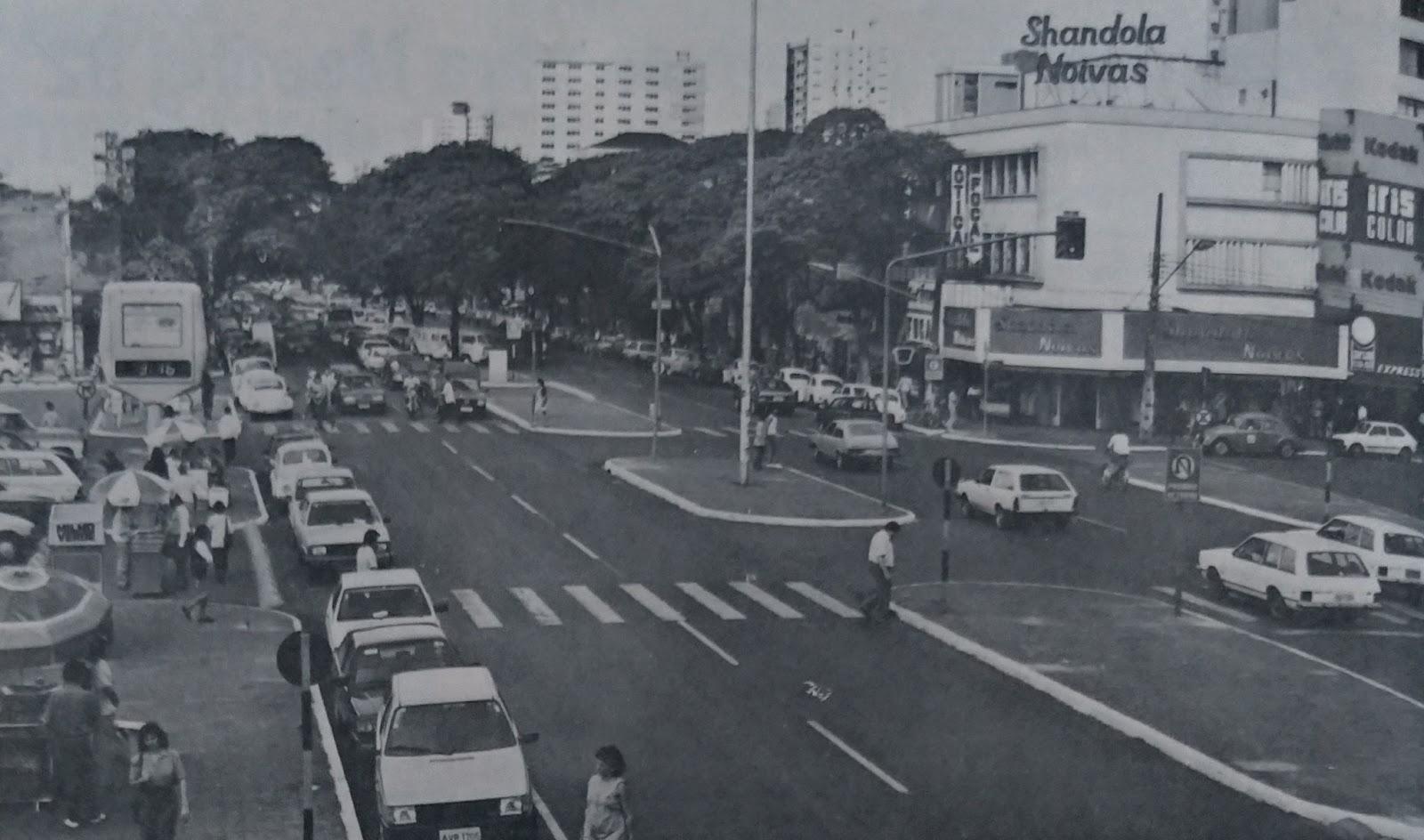 Avenida Brasil em 1991