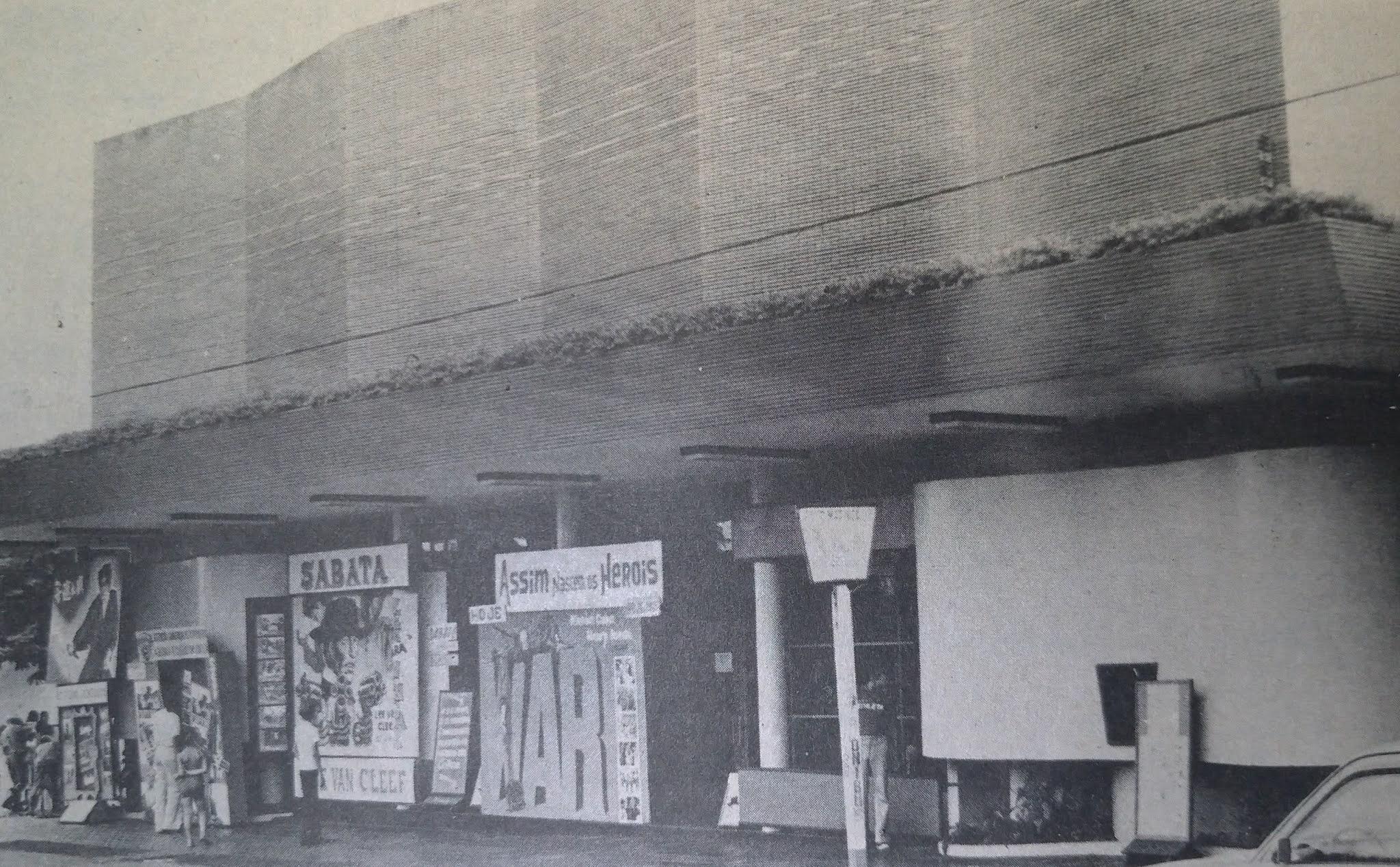 Cine Horizonte e suas promoções - 1975