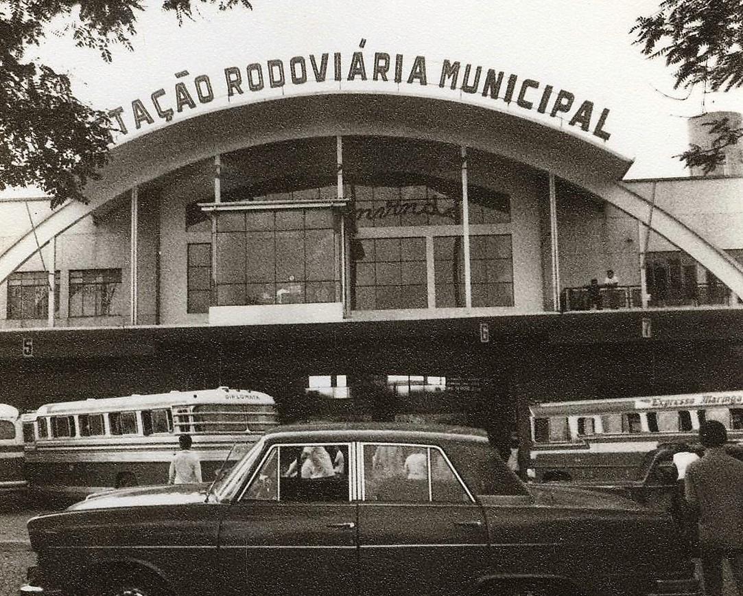 Estação Rodoviária Municipal de Maringá - 1970