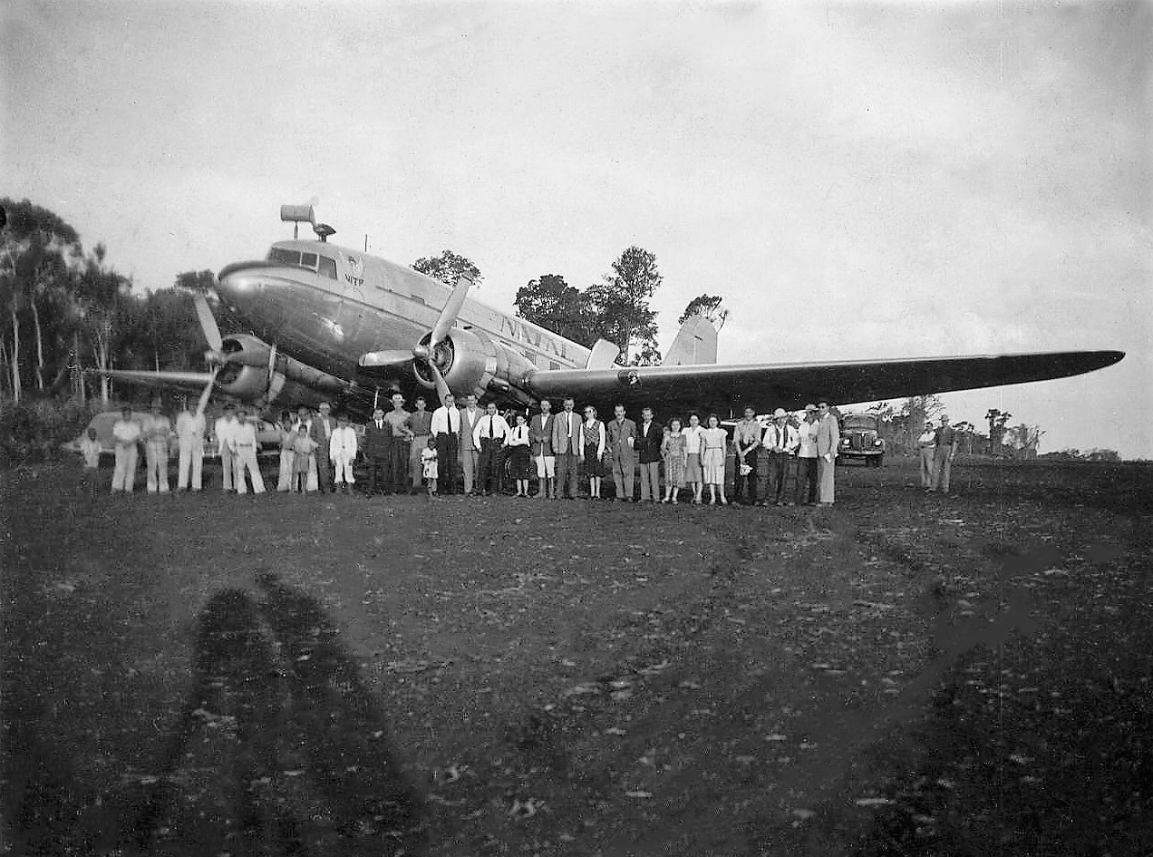 1ª grande aeronave - 1949