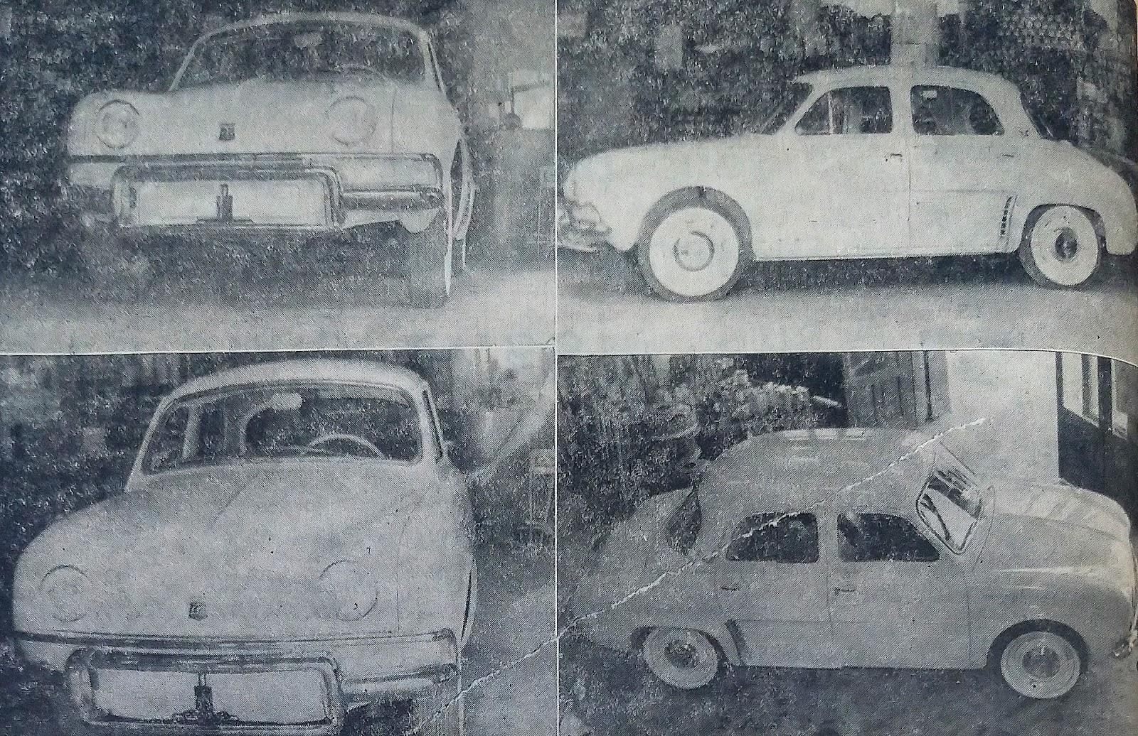Lançado o Dauphine em Maringá - 1960