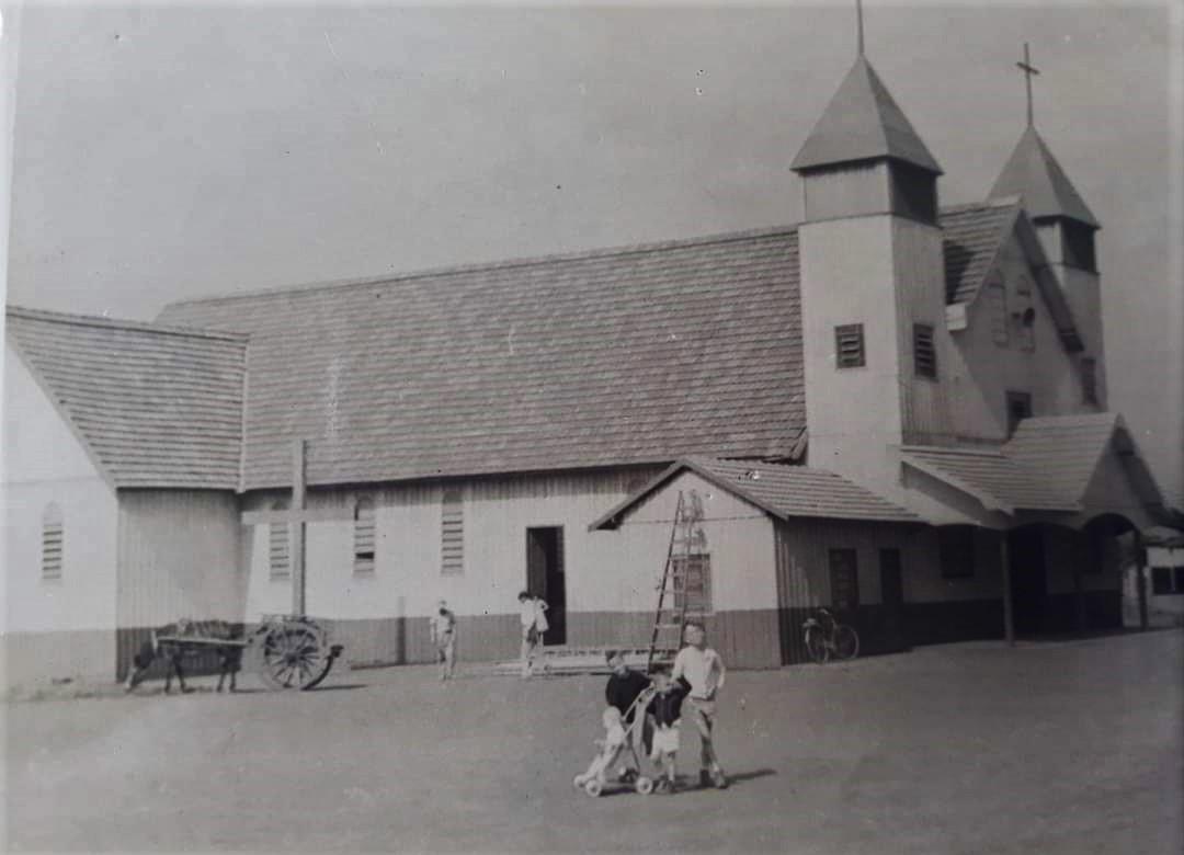 Catedral Nossa Senhora da Glória - Anos 1950