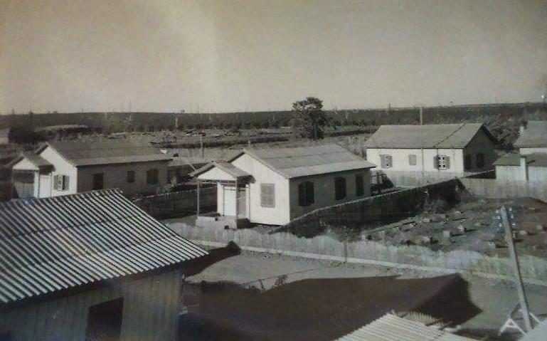 Colônia de residências na região do atual DER - Anos 1960
