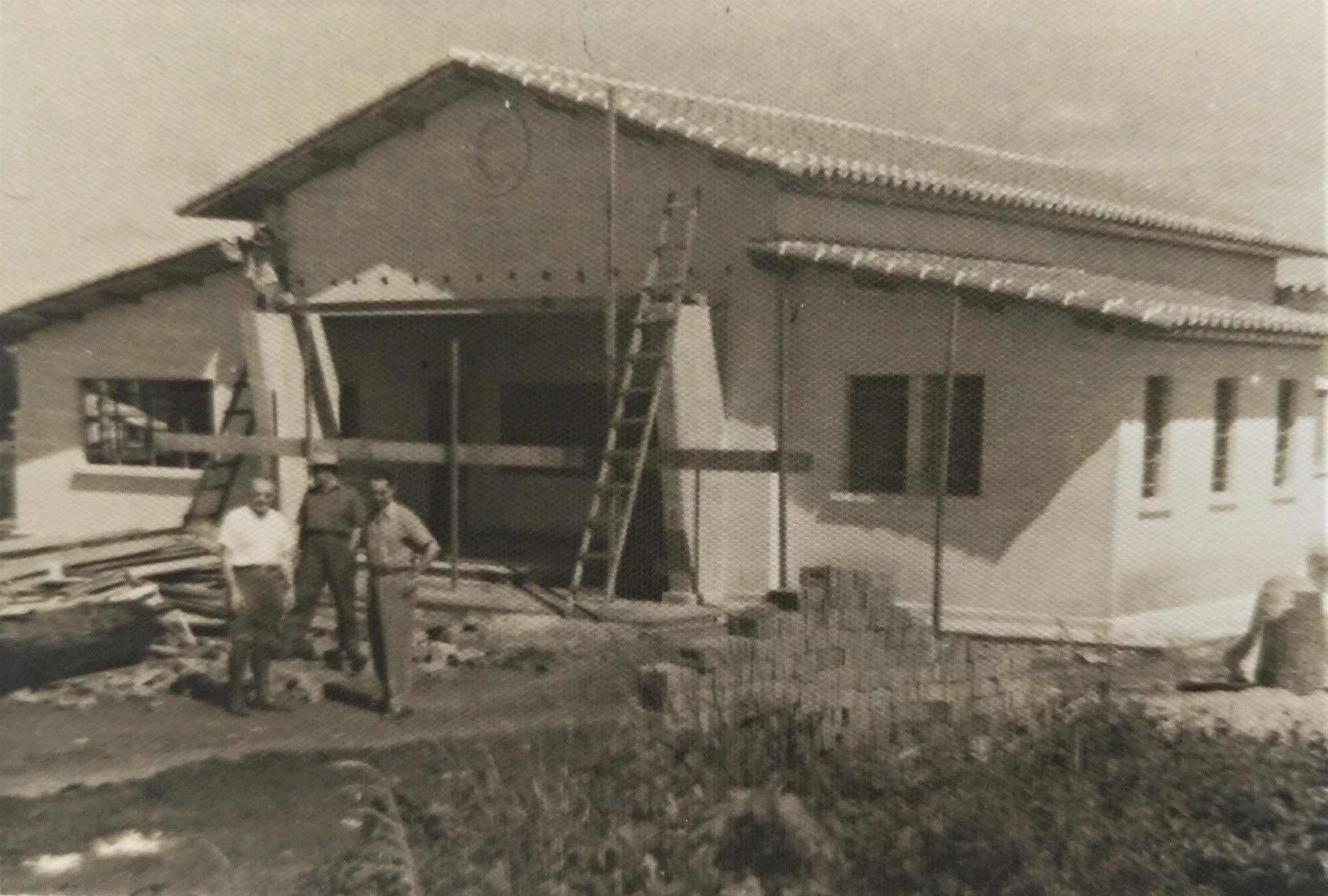 Lord Lovat em construção - Final da década de 1940