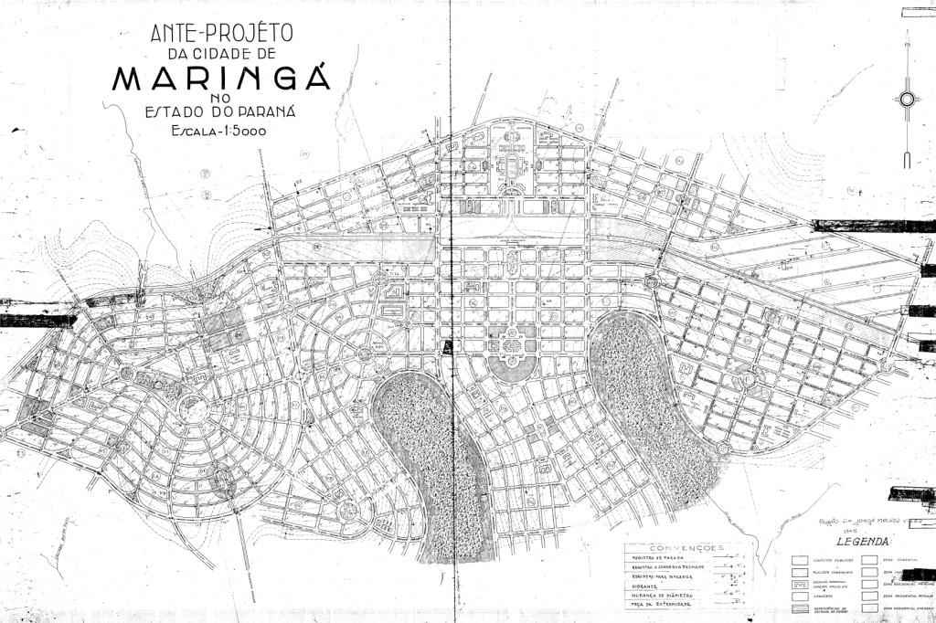 64 anos de Maringá x 66 anos de seu projeto