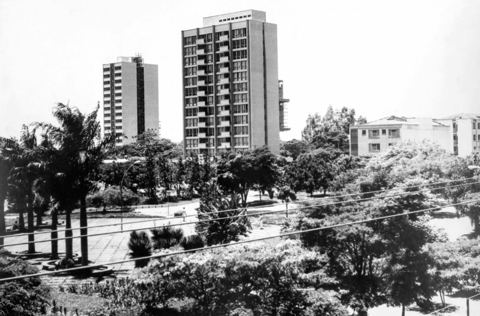 Praça Napoleão Moreira da Silva - Final dos anos 1960